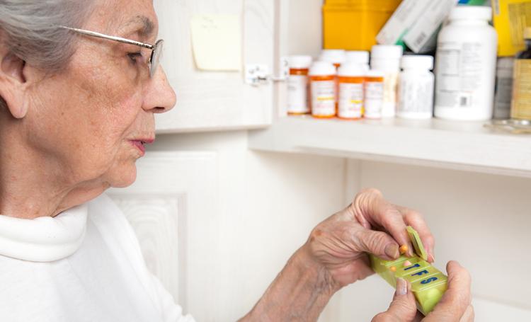 Armazenamento de medicamento